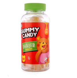Candy Coated Gelatin Gummy Bears Gummy Omega 3 Supplement Helps Brian Development