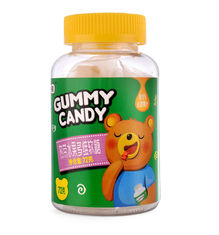 Bottle Packing Pectin Gummy Bears , Children'S Multivitamin Gummies Multi Color