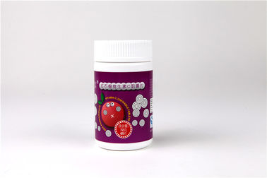 Delicious Taste Vit C Vitamin Chewable Tablets Pomegranate Flavor Private Label