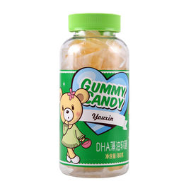 Chewable Children'S DHA Gummy Bears , Peach Gummy Bears Candy Improve Memory