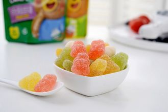 Bear Shape Sugar Free Xylitol Gelatin Multivitamins Gummy For Daily Vitamins Supplement